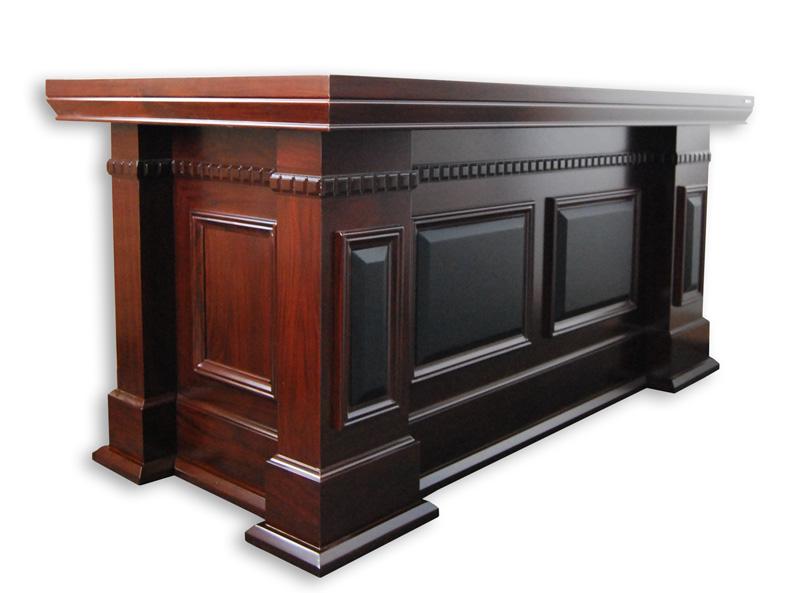 CHEF BÜRO Büromöbel Luxus-Schreibtisch Tisch *SENATOR 160* B-Ware | eBay