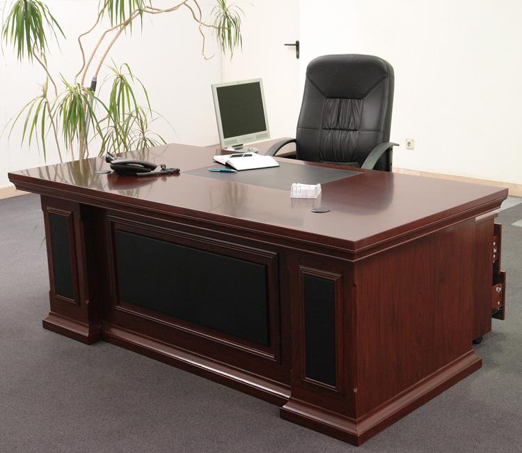 CHEF BÜRO Büromöbel Möbel Schreibtisch Tisch CASABLANCA 2te Wahl   eBay